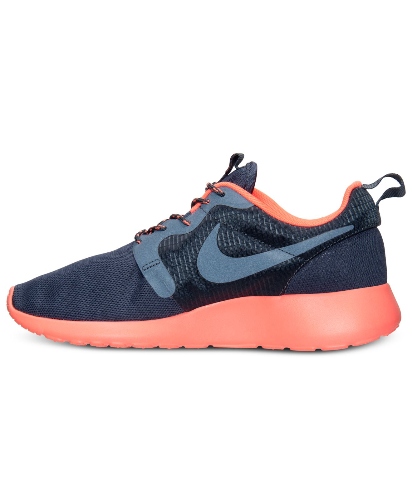 lyst nike women 39 s roshe run hyperfuse casual sneakers. Black Bedroom Furniture Sets. Home Design Ideas