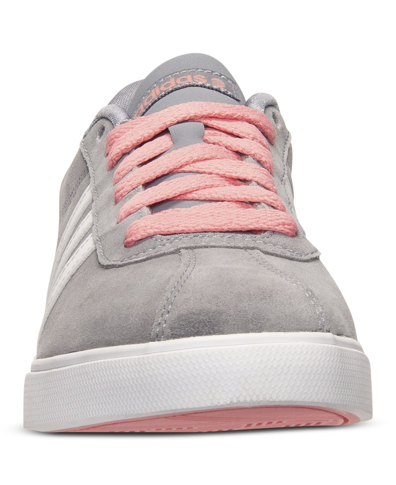 3b2029f06726 Lyst - adidas Women S Courtset Casual Sneakers From Finish Line in Gray