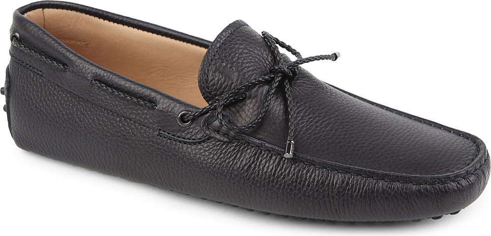 Tod's Scooby Doo Driving Shoes - For Men, Navy Blue in Blue for Men | Lyst