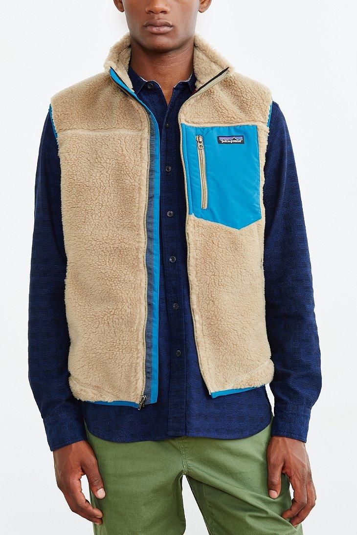 Patagonia Women S Classic Retro X Fleece Vest Natural