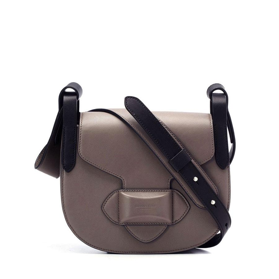 dc5f5767ba37 Michael Kors Daria Small Crossbody Saddle Bag - Lyst