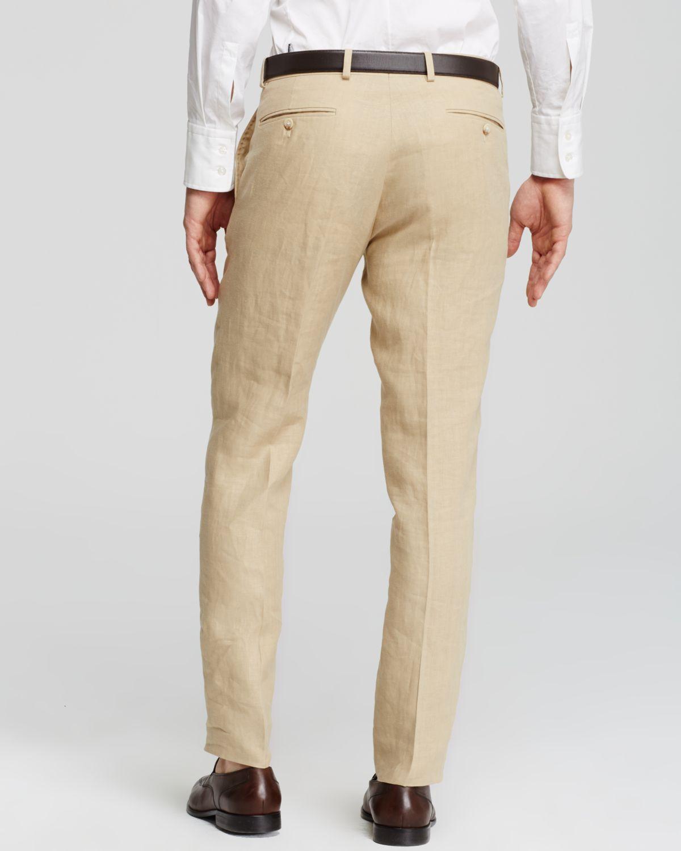 polo linen pants - Pi Pants