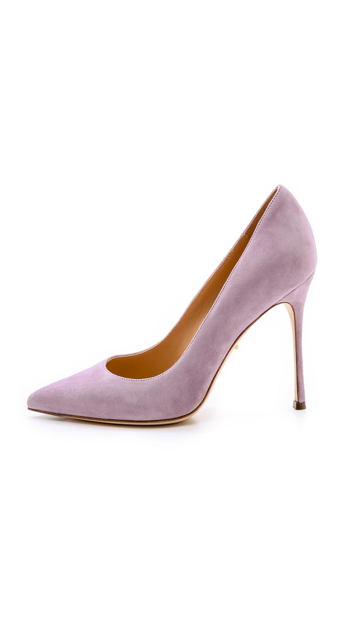 Sergio Rossi Godiva Pumps Lilac Blush In Purple Lyst