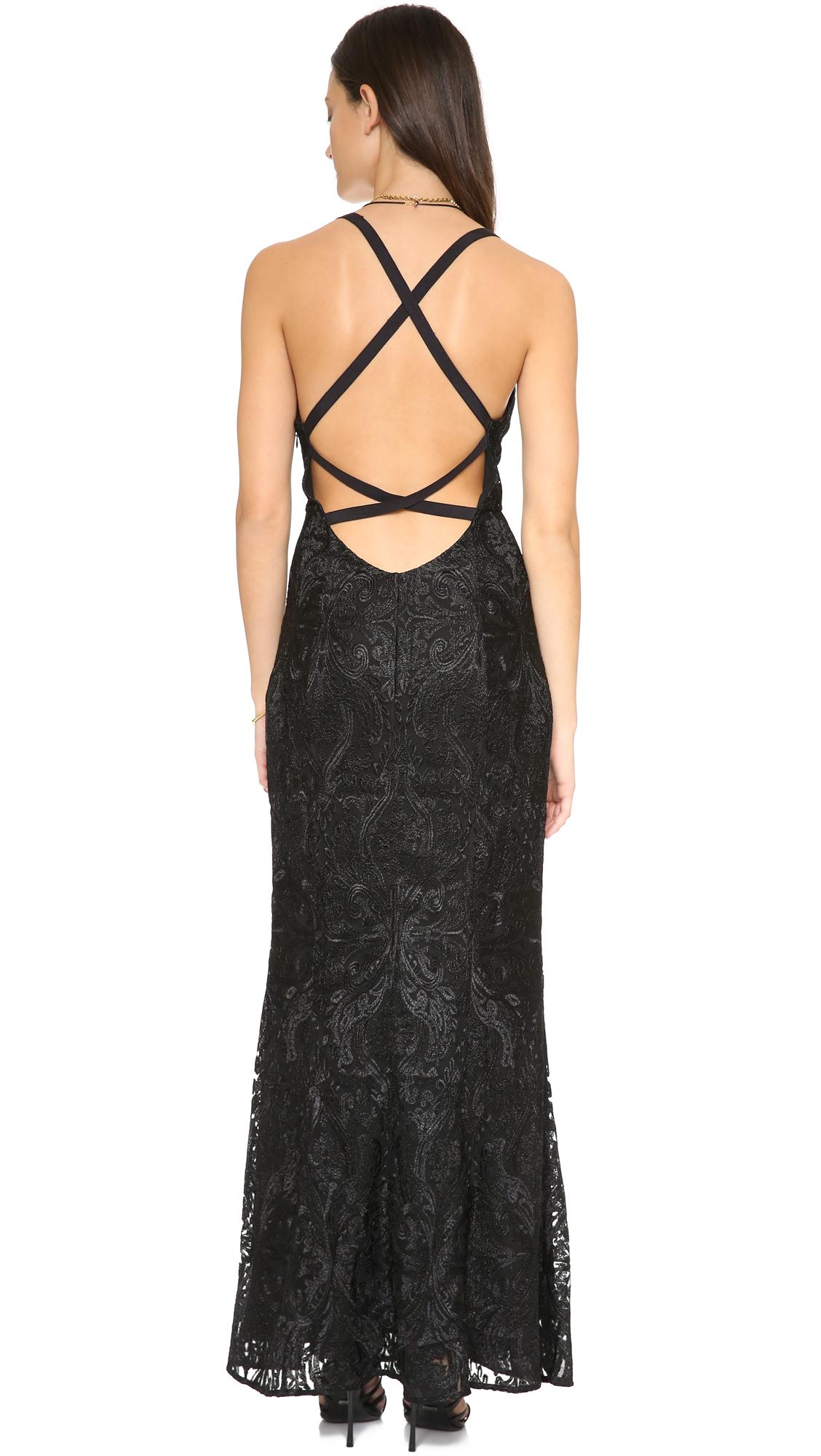 Free people Juliet Bodycon Dress in Black | Lyst
