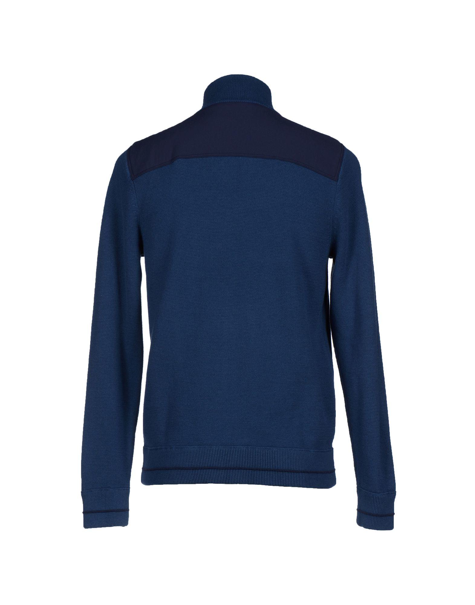 tommy hilfiger cardigan in blue for men lyst. Black Bedroom Furniture Sets. Home Design Ideas