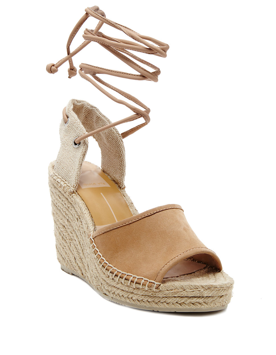 open toe wedge espadrilles - Grey Dolce Vita PbJUxV
