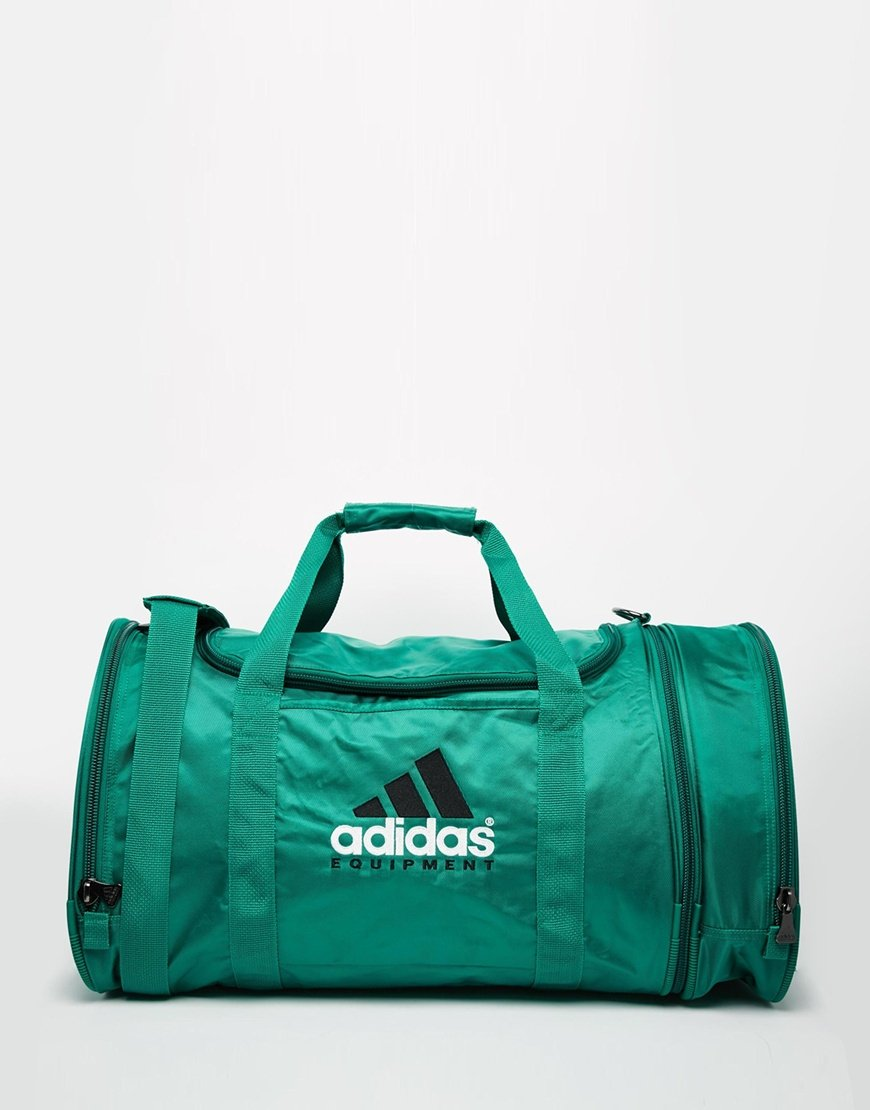 Lyst Adidas Originals Equipment Duffle Bag In Green For Men