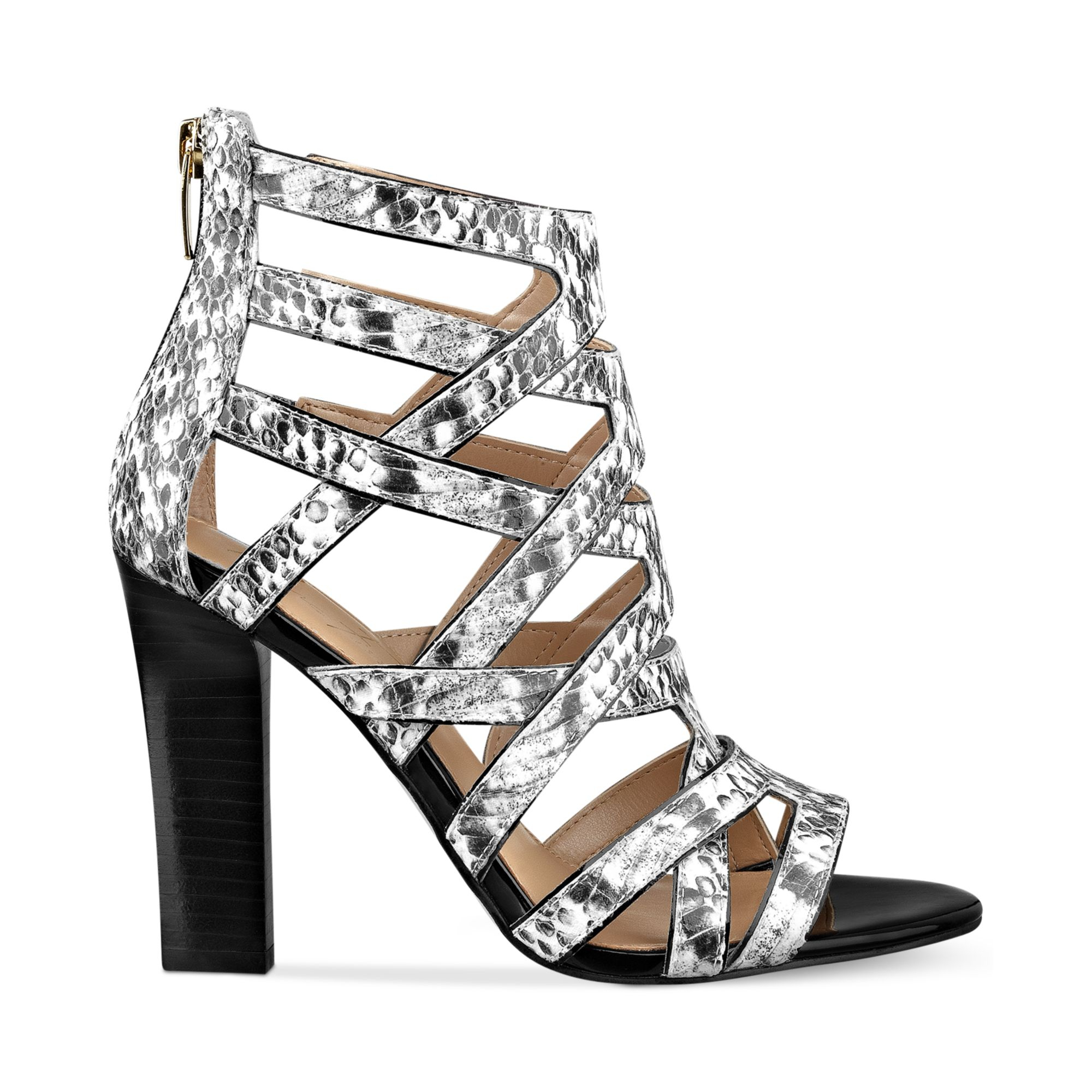 Lyst Marc Fisher Leana Caged Heeled Sandals