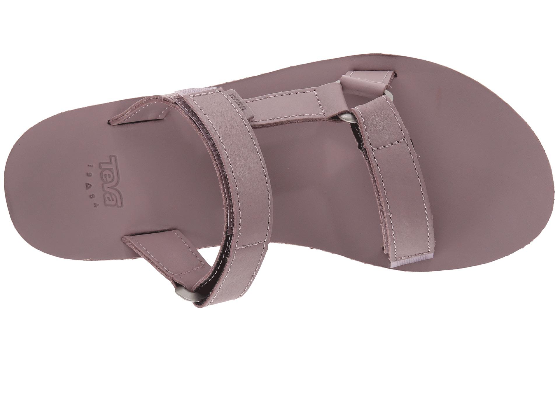 a4b851844b79 Lyst - Teva Universal Slide Leather in Purple