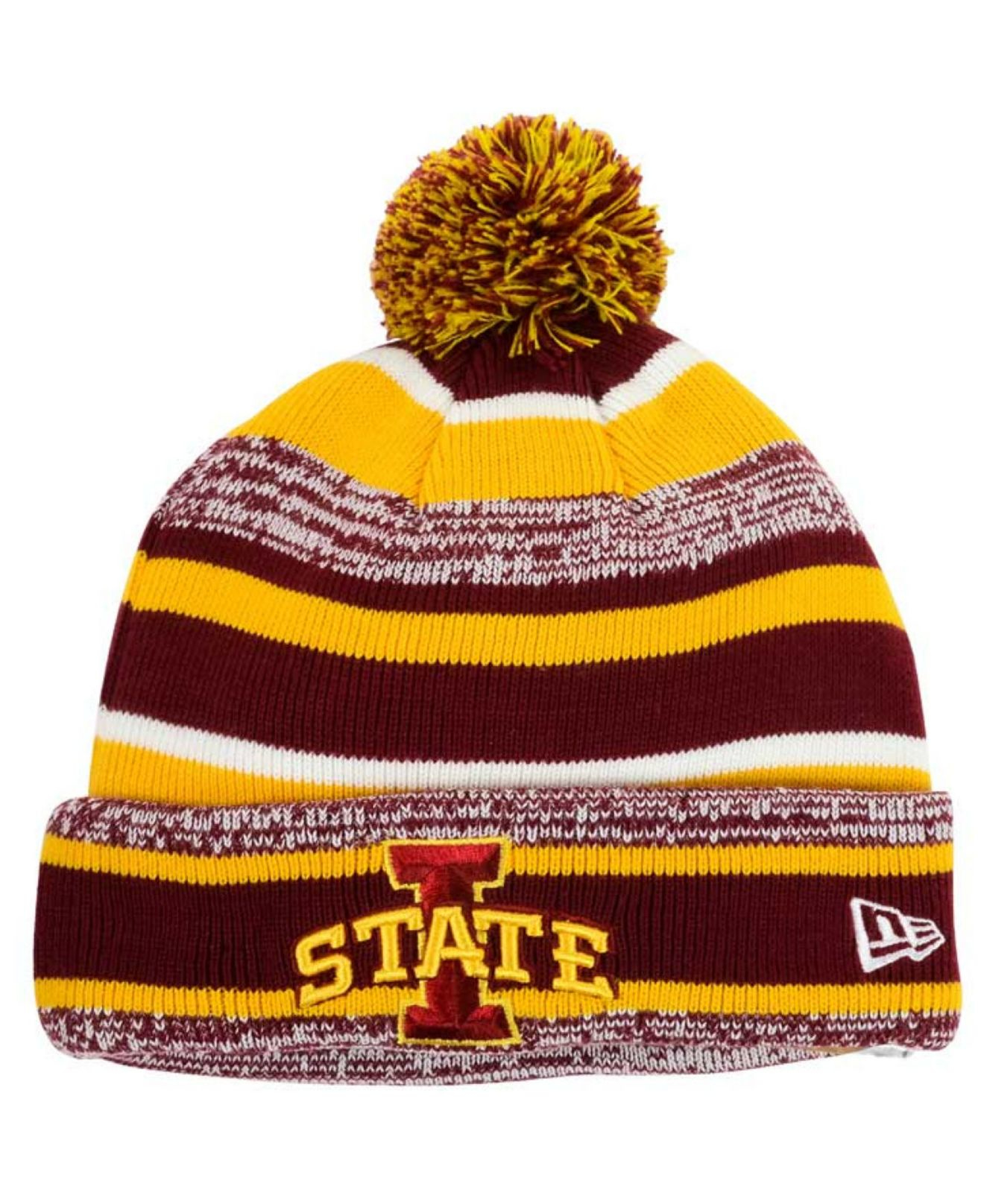best service bc803 90169 ... sale promo code for lyst ktz iowa state cyclones sport knit hat in red  for men