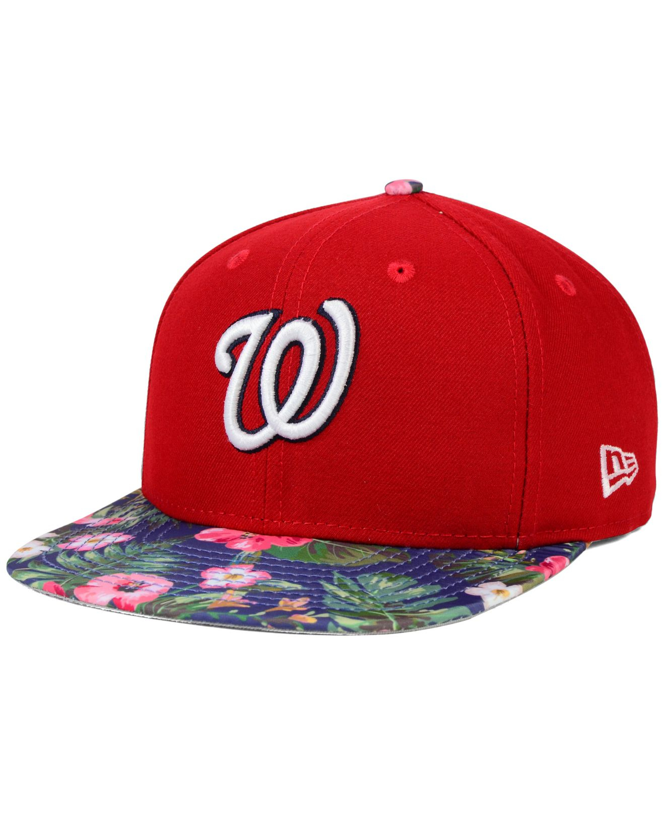 the latest 6f9d6 705ef ... closeout lyst ktz washington nationals tropic time 9fifty snapback cap  in df34b 22cf6