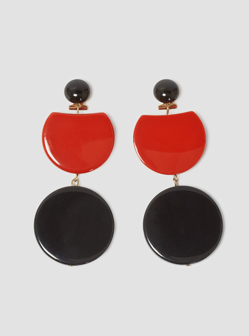 Rachel Comey Lhasa Gold-Tone Acrylic Earrings mBHNp