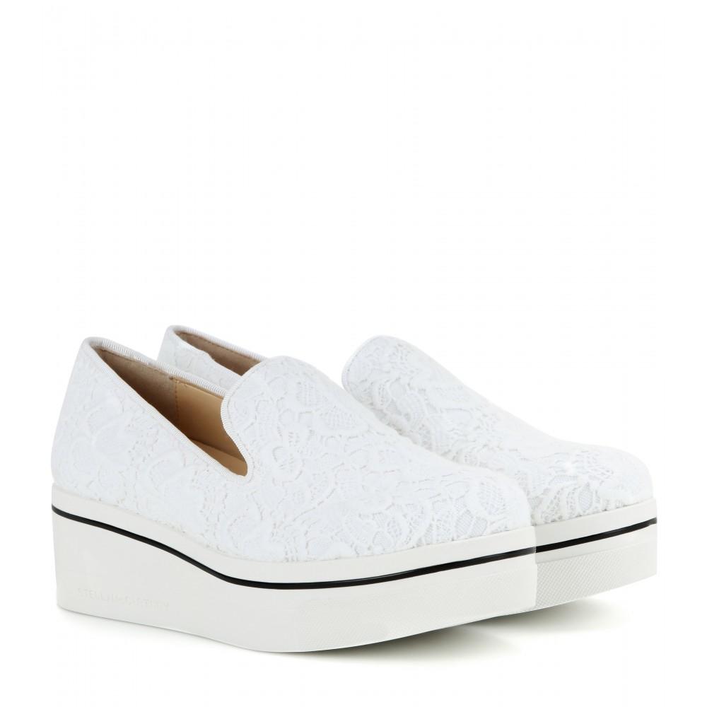 sale 100% authentic outlet visit Stella McCartney Binx Lace Sneakers cheap sale Cheapest 1jR8wr