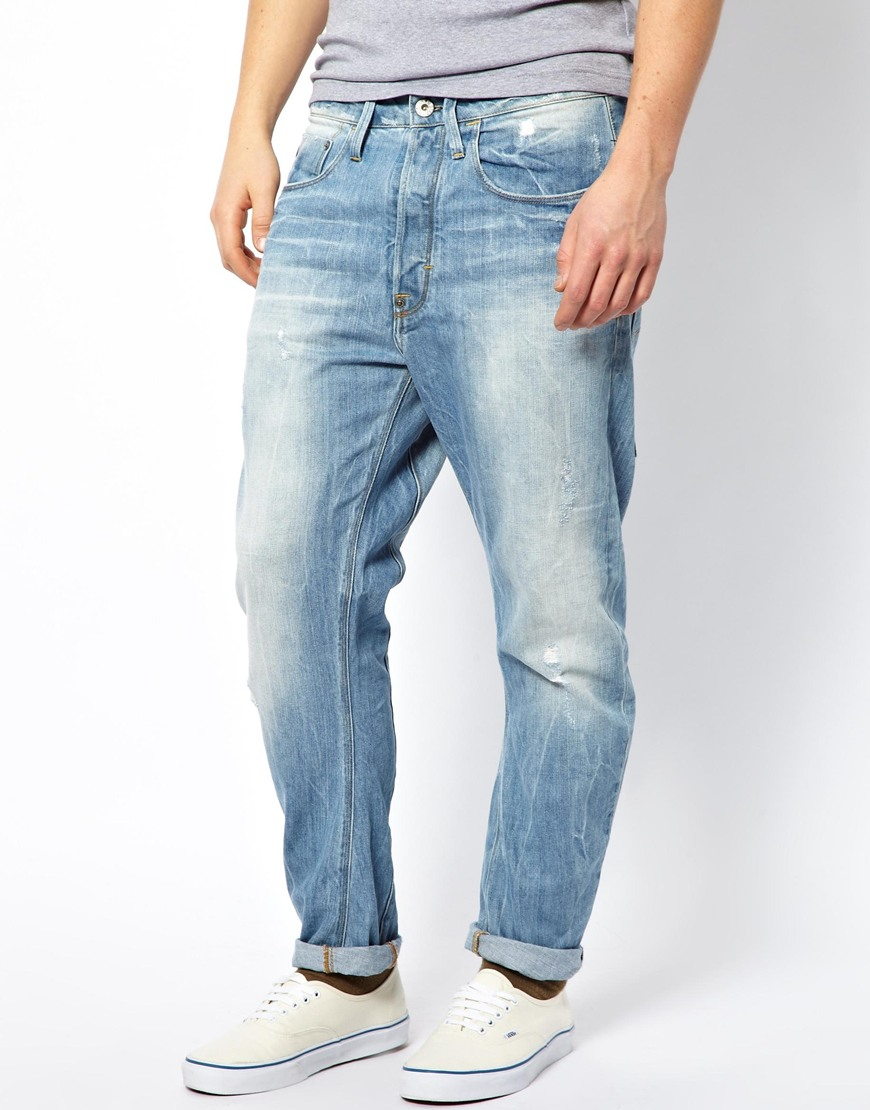 ebf54d2eaea G-Star RAW G Star Jeans Type C 3d Loose Tapered Light Aged ...