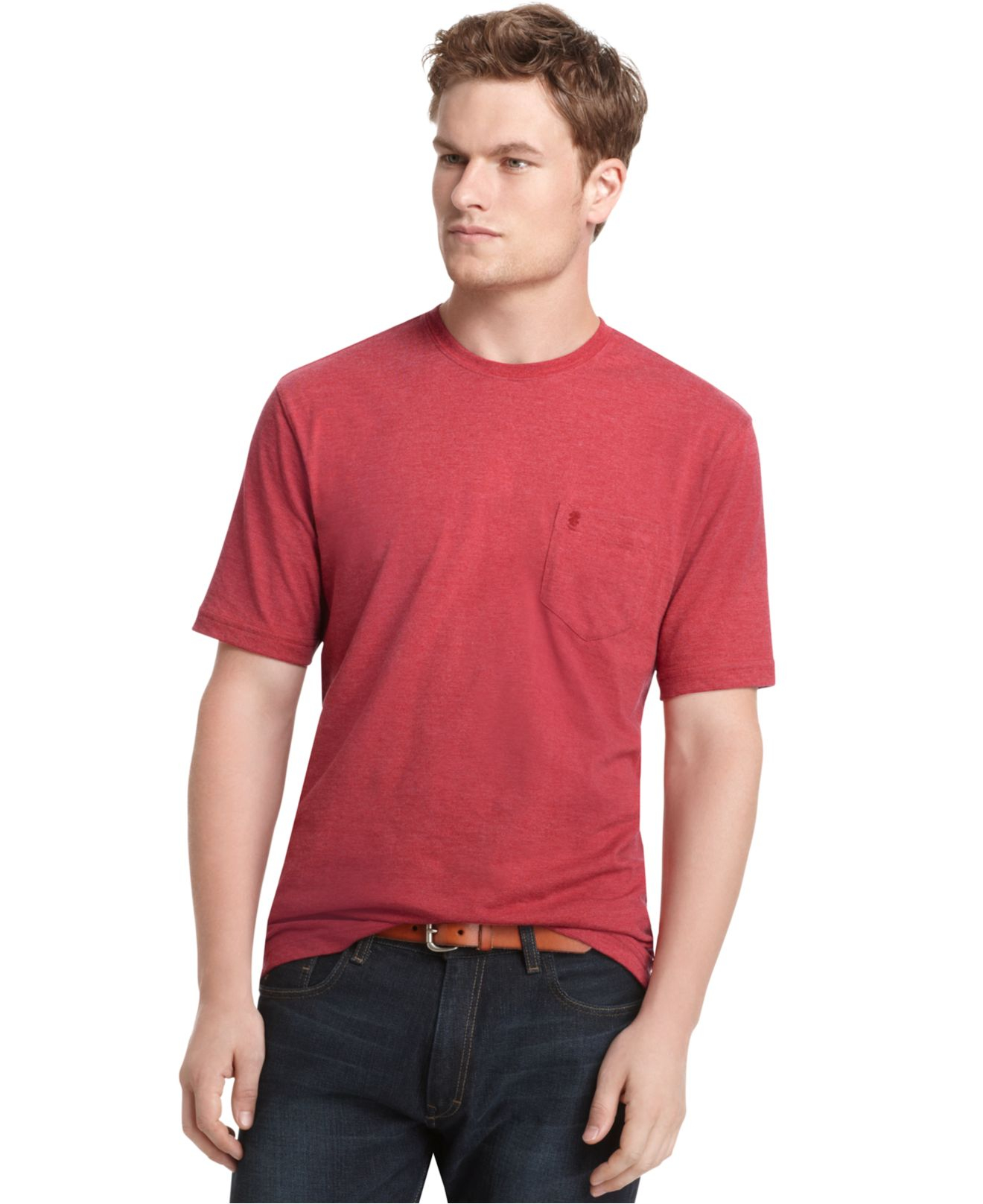 Men with big girth but normal height need a different size of long-sleeve T-shirt than tall men with normal girth. Short-sleeve shirts have fewer constraints, so they tend to fit a larger number of men .