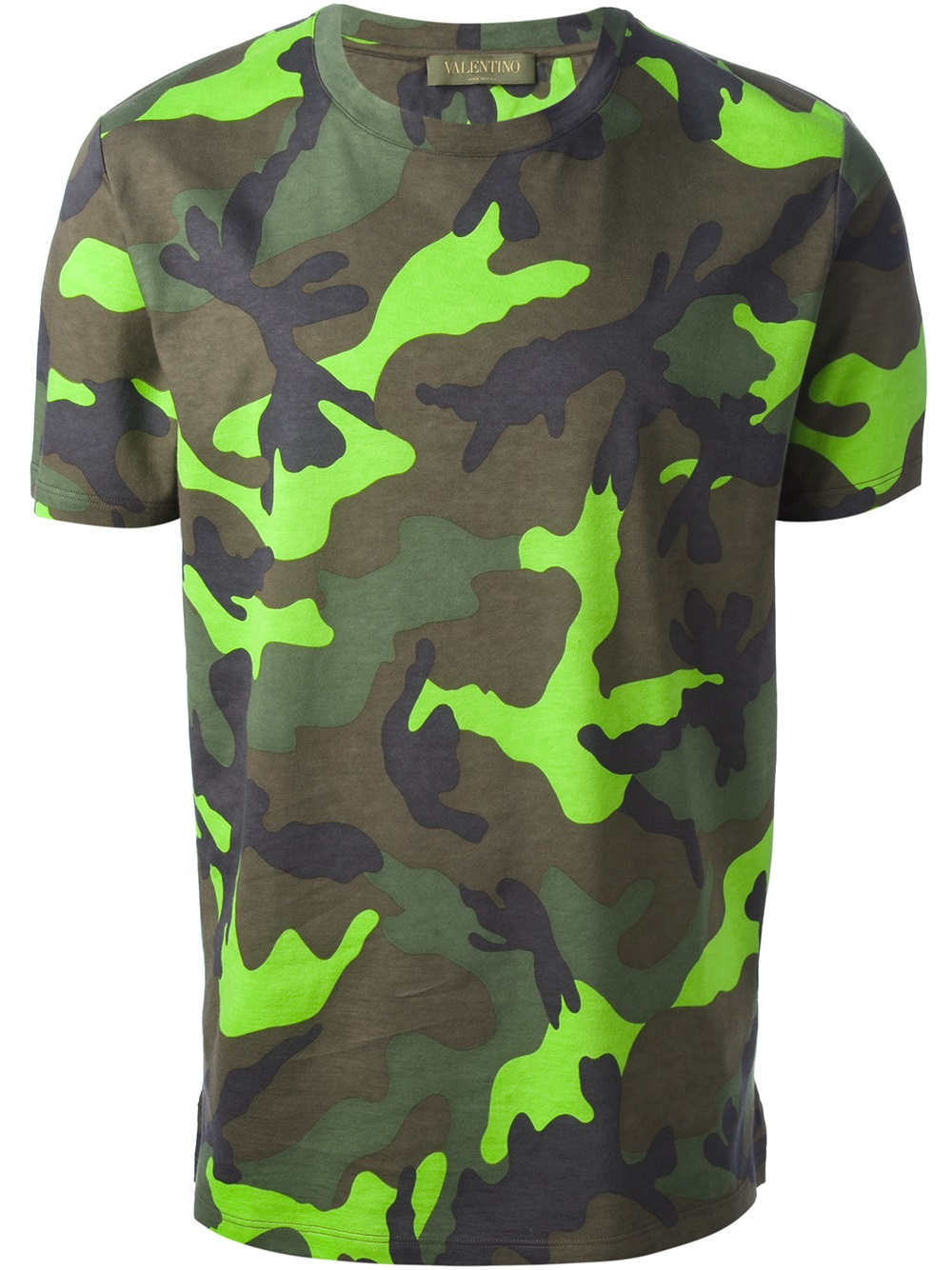 Discount Genuine camo-print T-shirt - Green Valentino Buy Cheap Low Shipping Fake FpjazZpi9F