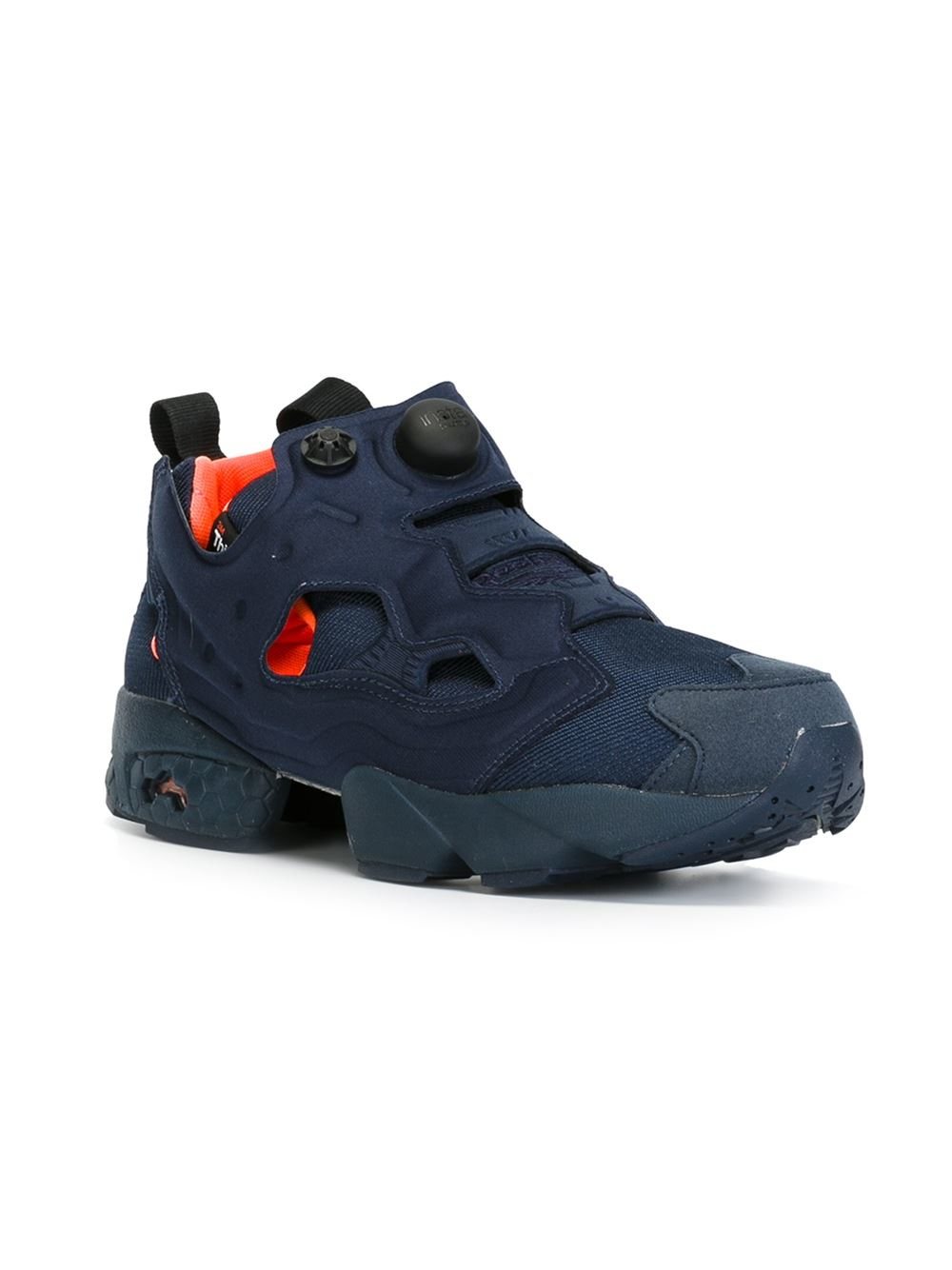 reebok 39 pump fury 39 sneakers in blue for men lyst. Black Bedroom Furniture Sets. Home Design Ideas
