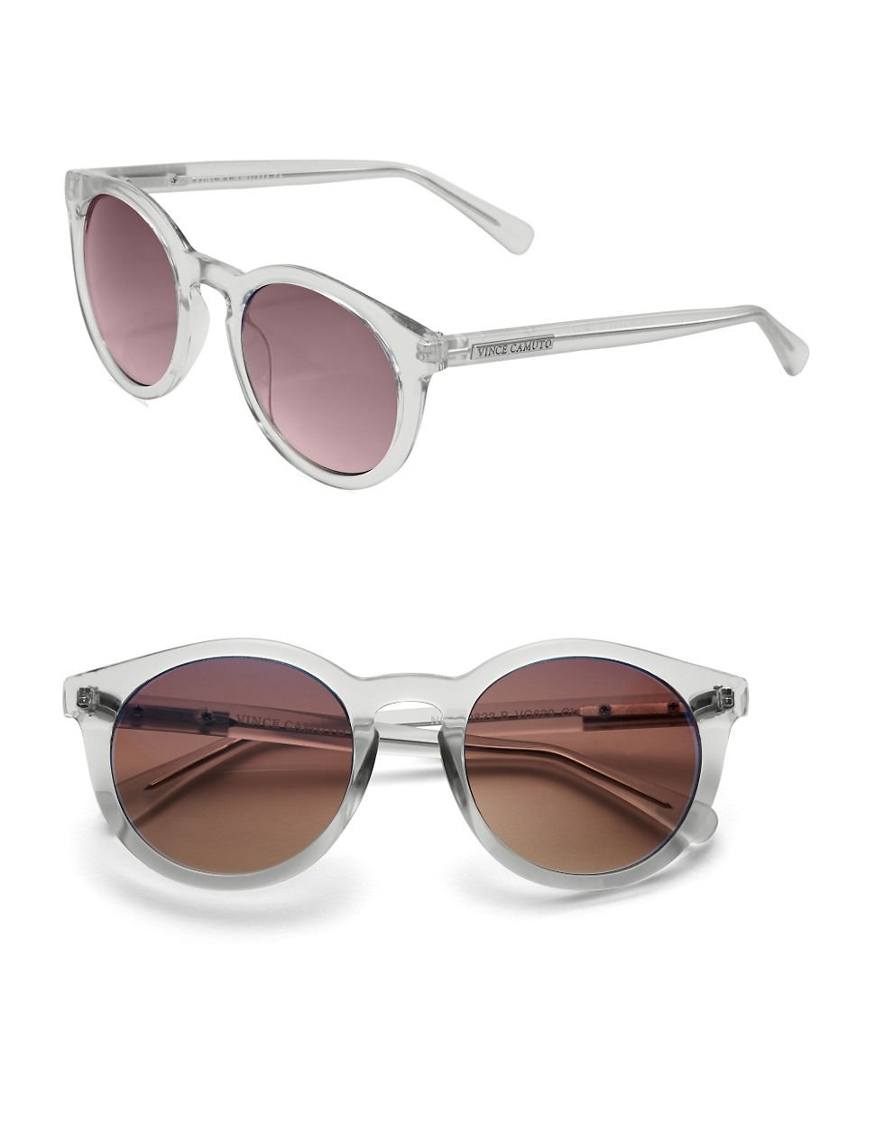 e32a03ff1b Lyst - Vince Camuto 57Mm Round Frame Sunglasses