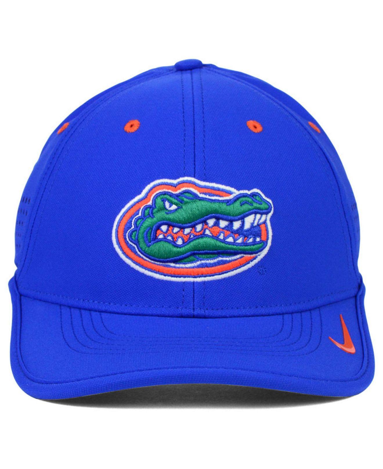 644e0d21cfd ... inexpensive lyst nike florida gators dri fit coaches cap in blue for men  f749a 17089