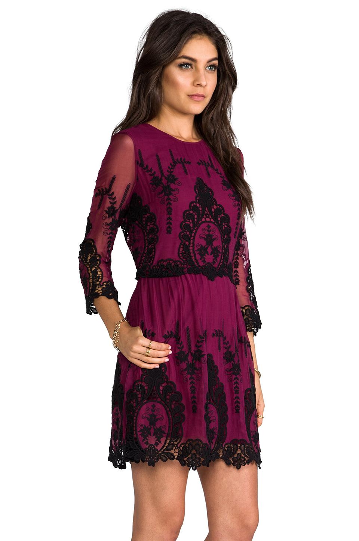 Dolce vita Valentina Dress in Burgundy in Purple   Lyst