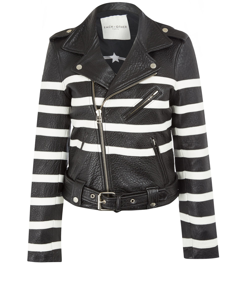 Find and save ideas about Striped jacket on Pinterest. | See more ideas about Women's striped necklaces, Stripe blazer and Striped blazer womens. Striped Jacket black/white Style No: JK Stretch ponti knit fabric striped jacket. This cute jacket has 3/4 ruched sleeves. This jacket is unlined and has a lapel front and 2 front pockets. #.