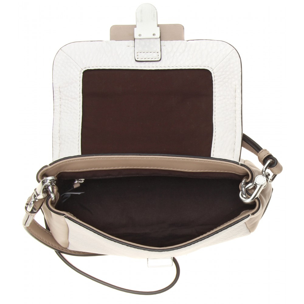 20df1a2ddb Lyst - Marc By Marc Jacobs Noha Leather Shoulder Bag in Black