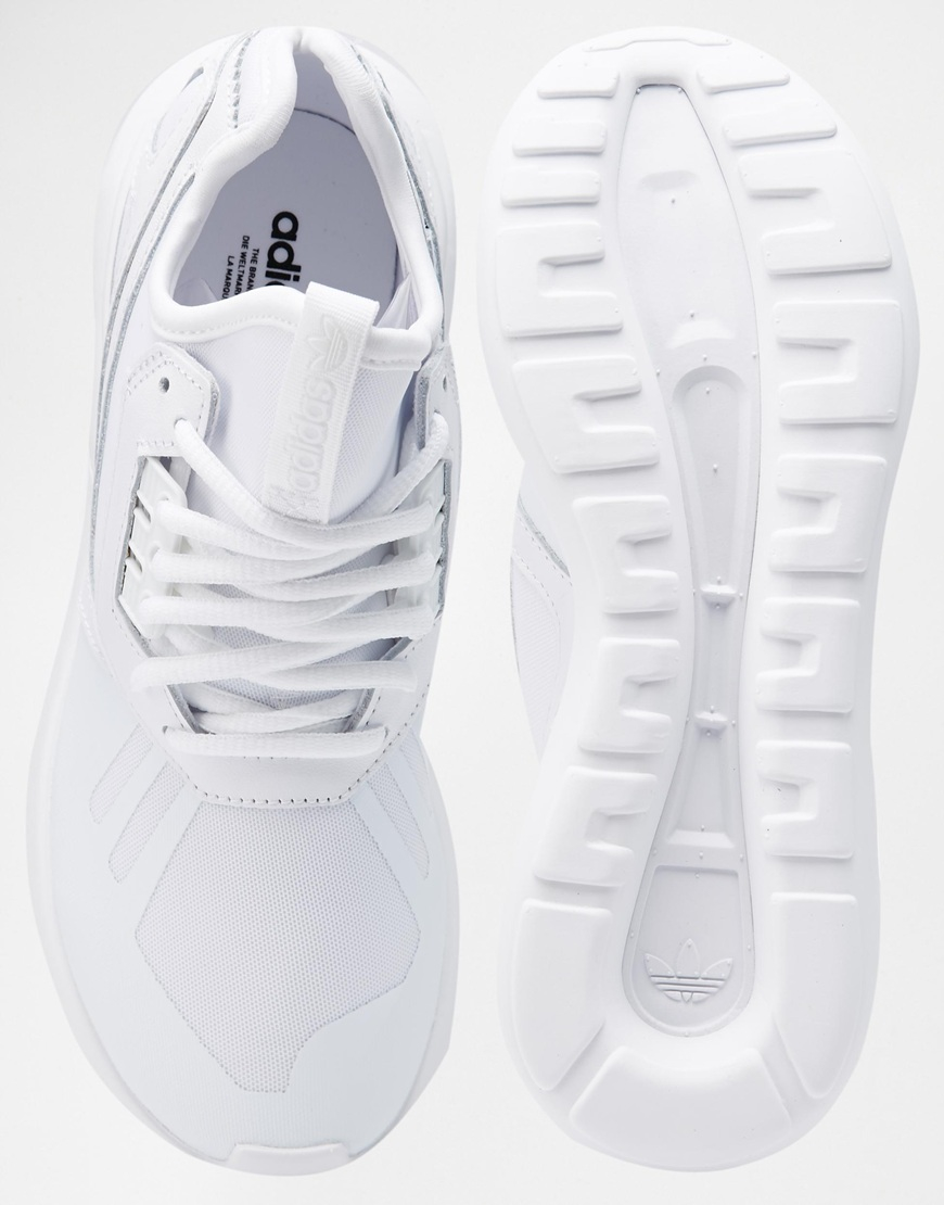 addidas white trainers
