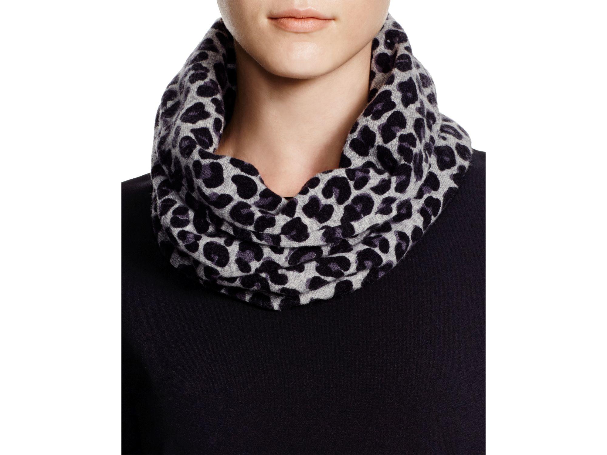 Infinity leopard scarf macy?s new photo