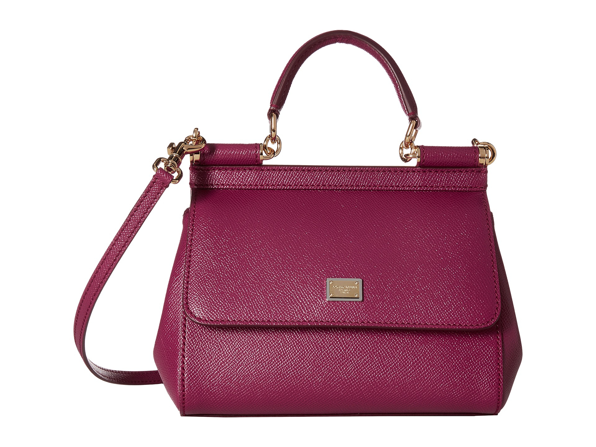 Lyst - Dolce   Gabbana Mini Bags Vitello Stampa Dauphine in Purple de32a888afa9b