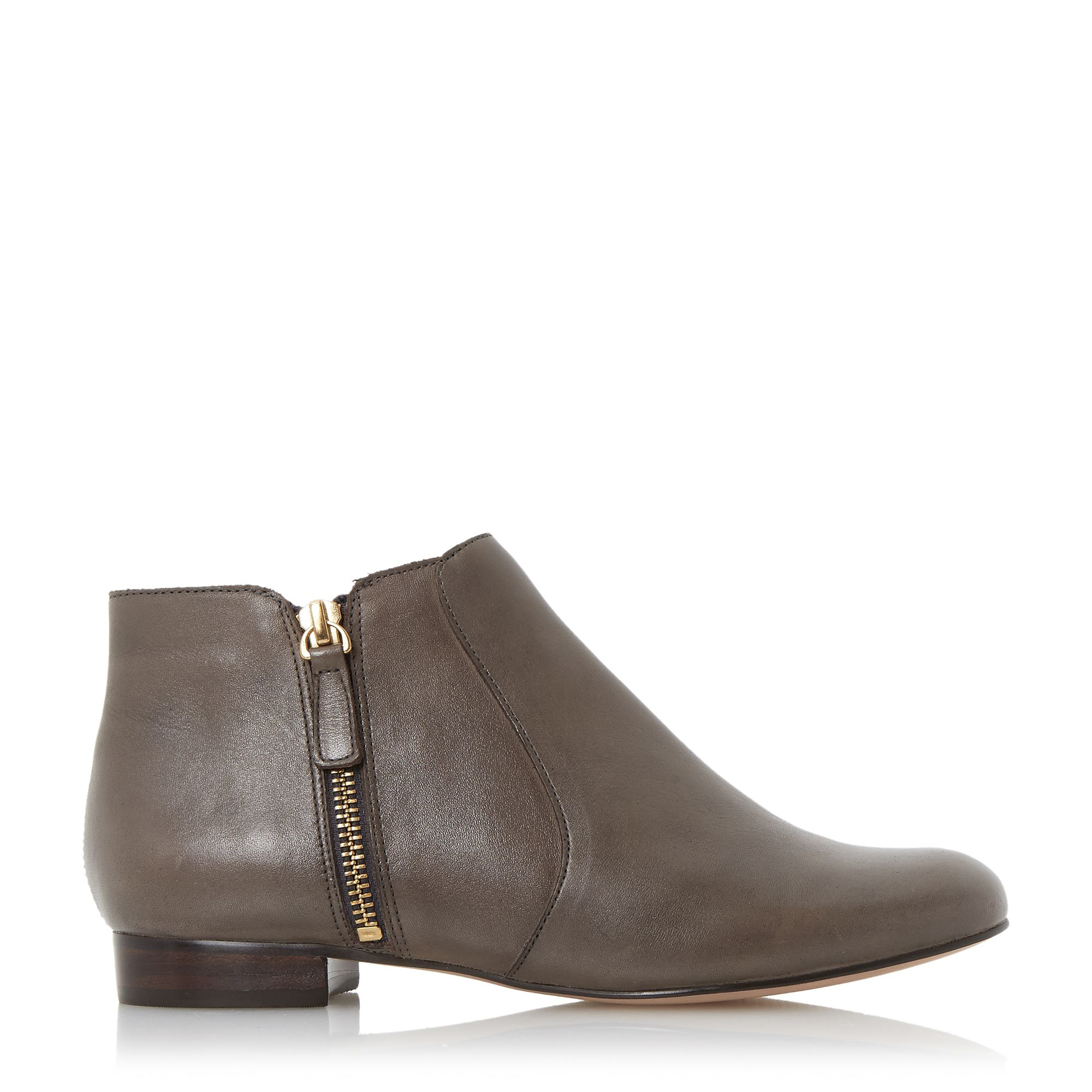 dune pandas ankle boots in brown lyst