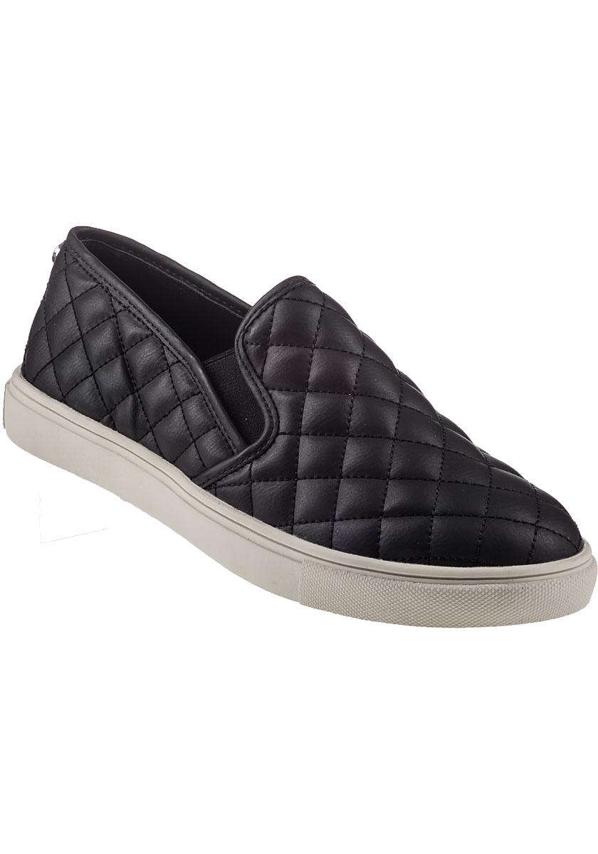 steve madden ecentrcq slip on sneaker black in black lyst