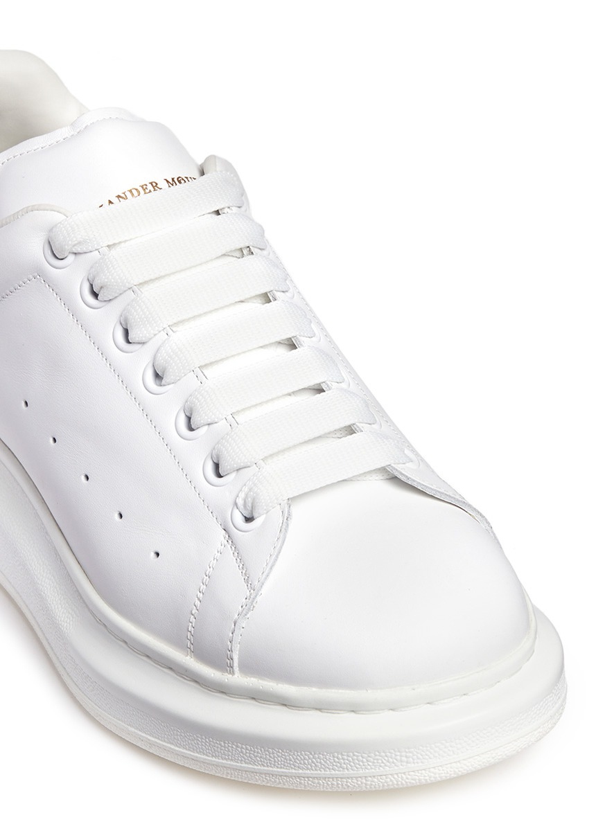 chunky sole sneakers - White Alexander McQueen VAUtHhS