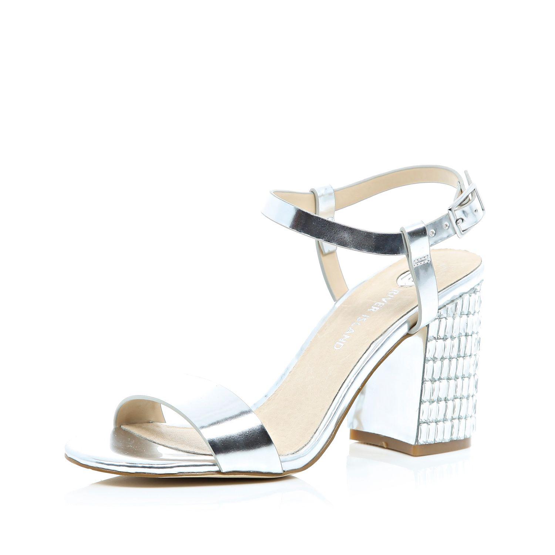 Block Heel Gem Shoes