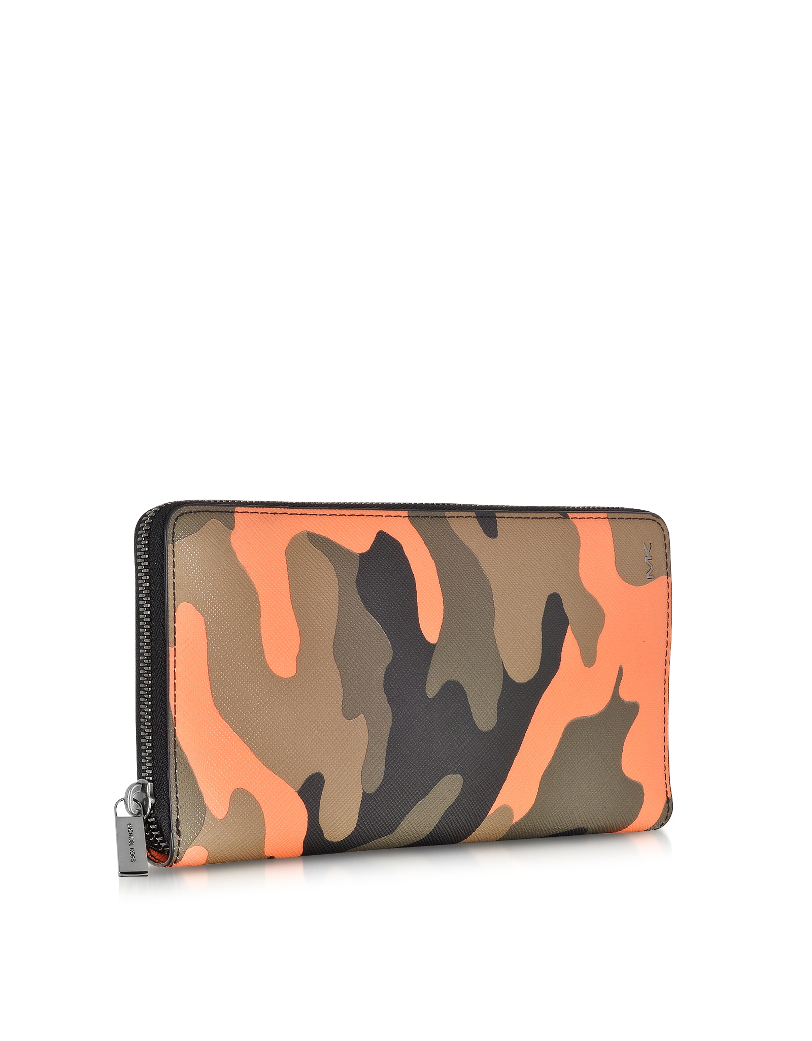 Lyst Michael Kors Jet Set Men S Camouflage Zip Wallet In