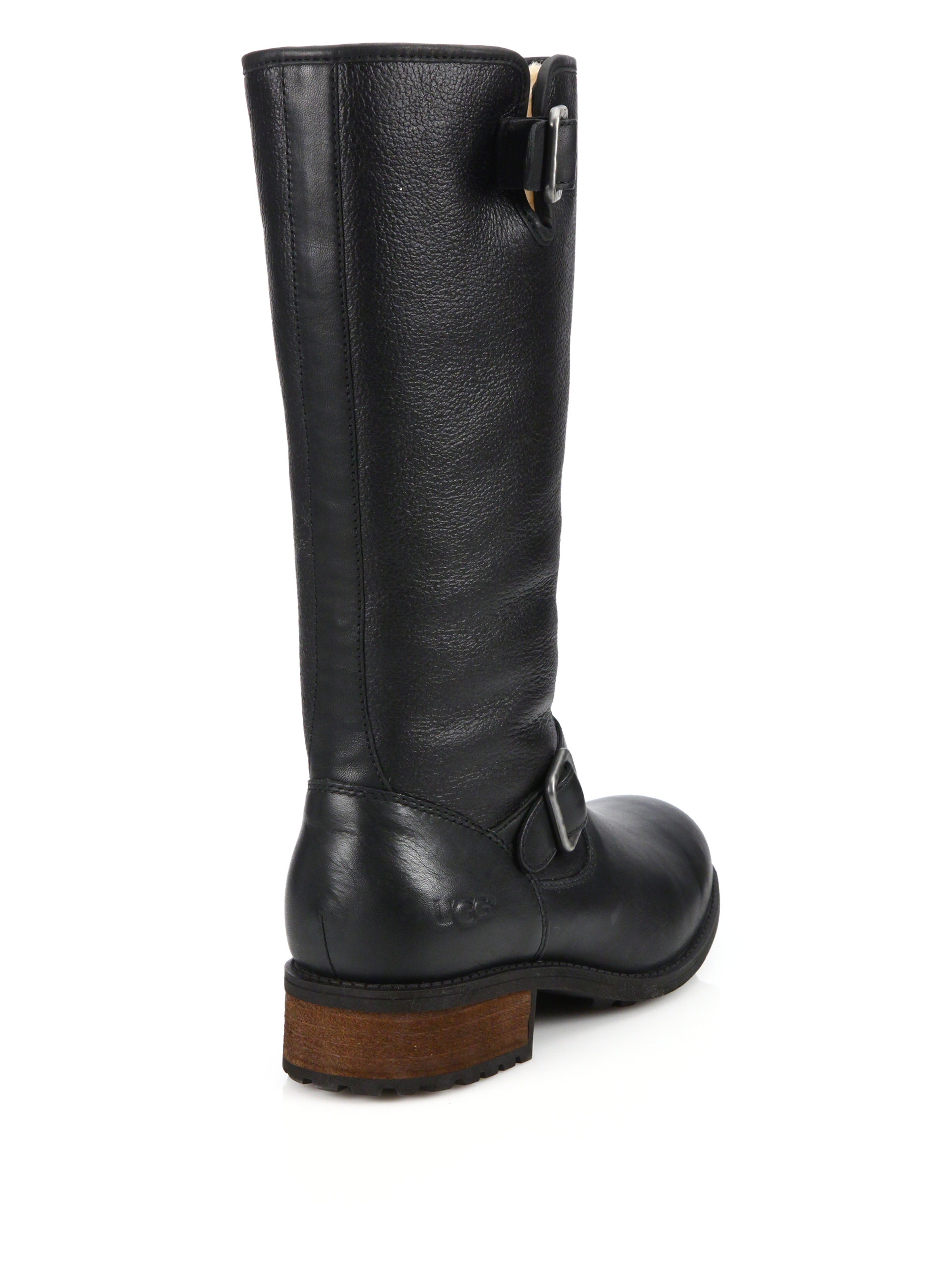 95b8a0301d6 usa ugg long leather boots ef5a0 8fdf3