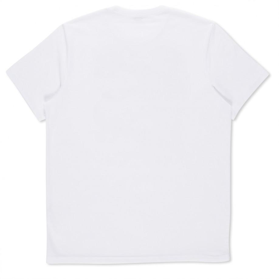 Paul smith white zombie print organic cotton t shirt in for Natural cotton t shirts