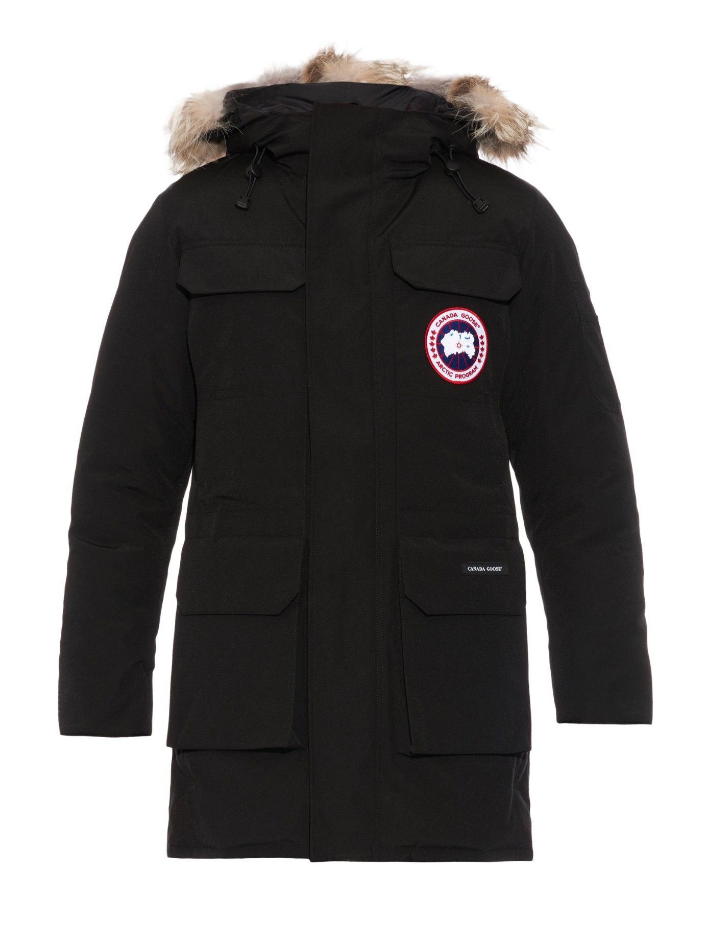 Canada Goose coats outlet authentic - Canada goose Citadel Fur-trimmed Down Parka in Black for Men | Lyst