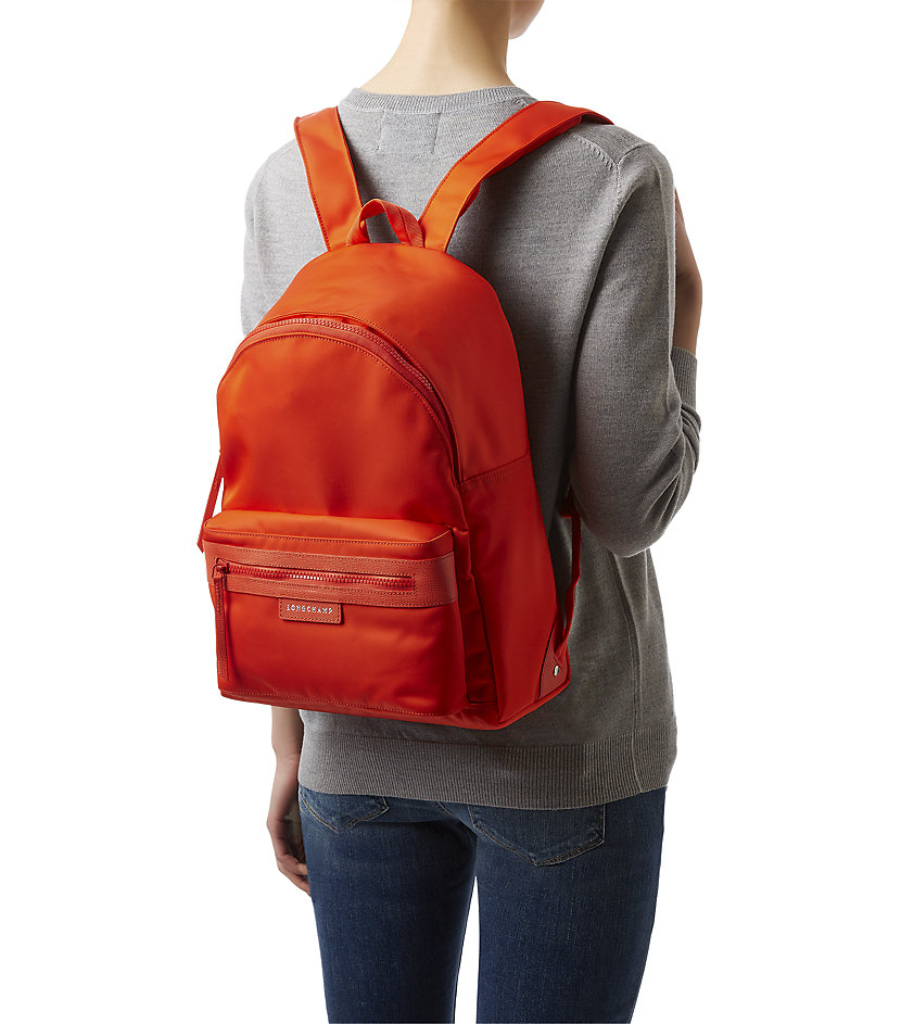 Longchamp Le Pliage N 227 169 O Backpack In Orange Lyst