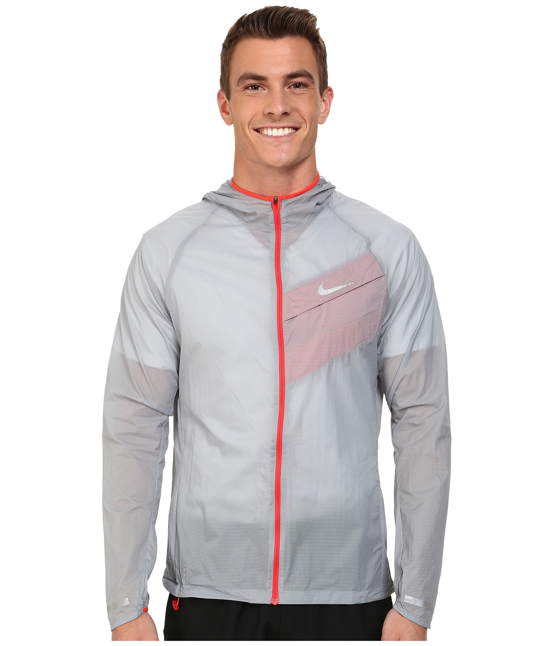 55ae9d5a933f Lyst - Nike Impossibly Light Jacket in Gray for Men