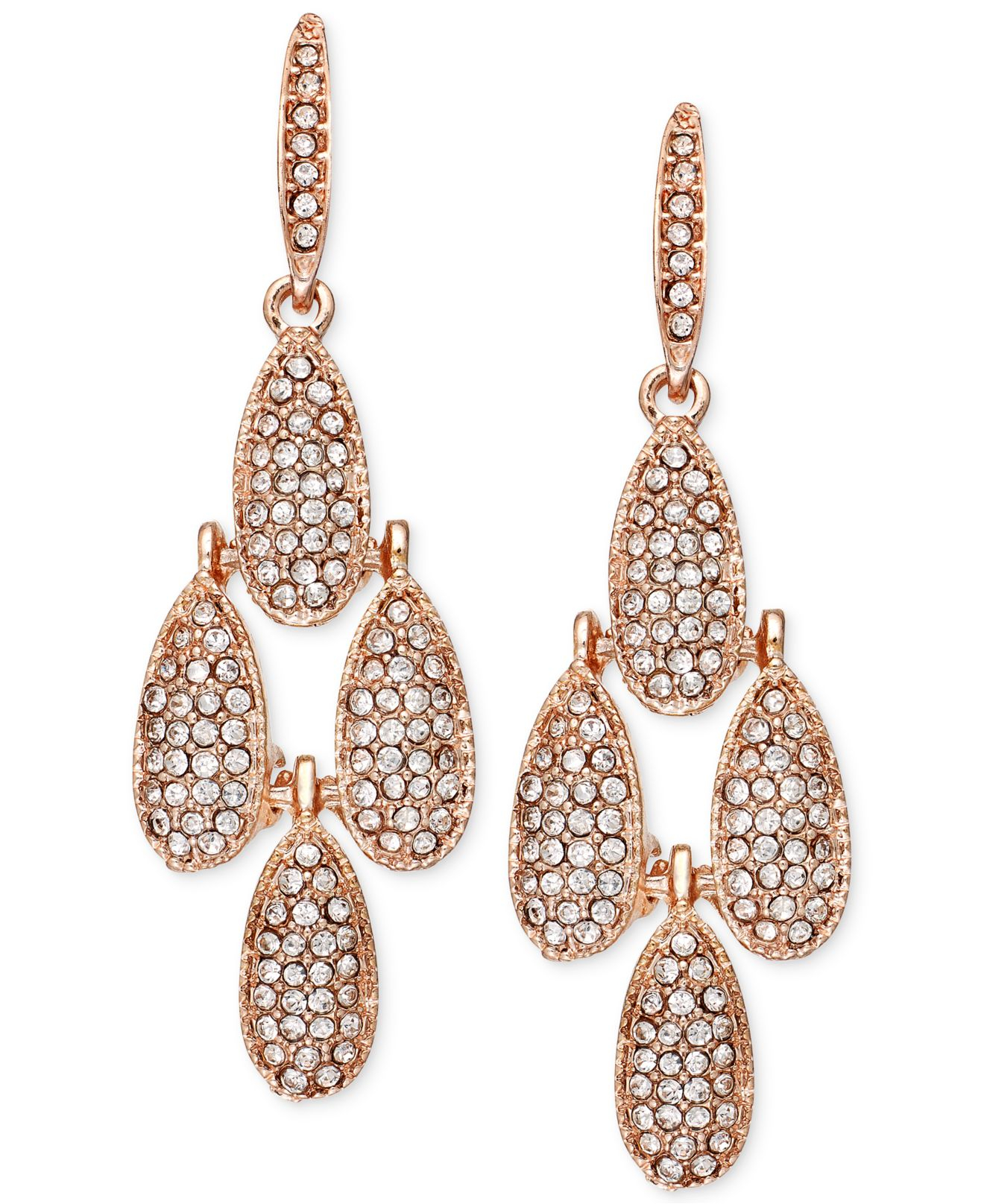 Chandelier earrings gold tone beautify themselves with earrings
