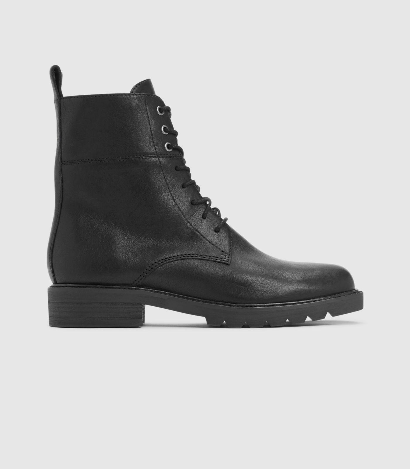 bbba07fe7067 Lyst - Eileen Fisher Ripley Italian Leather Ankle Boot in Black