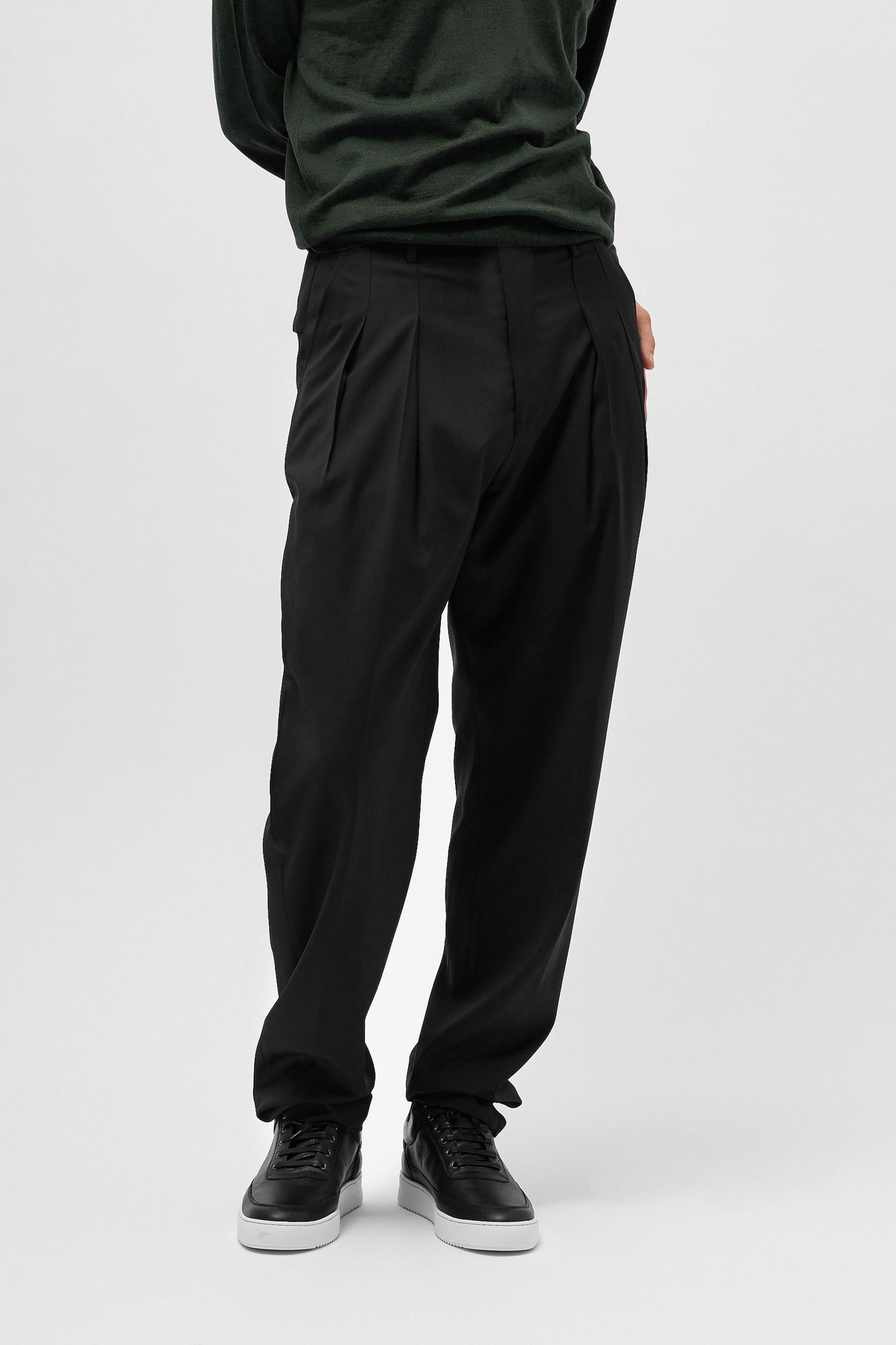 cropped tapered trousers - Black SJZ6lPrHS