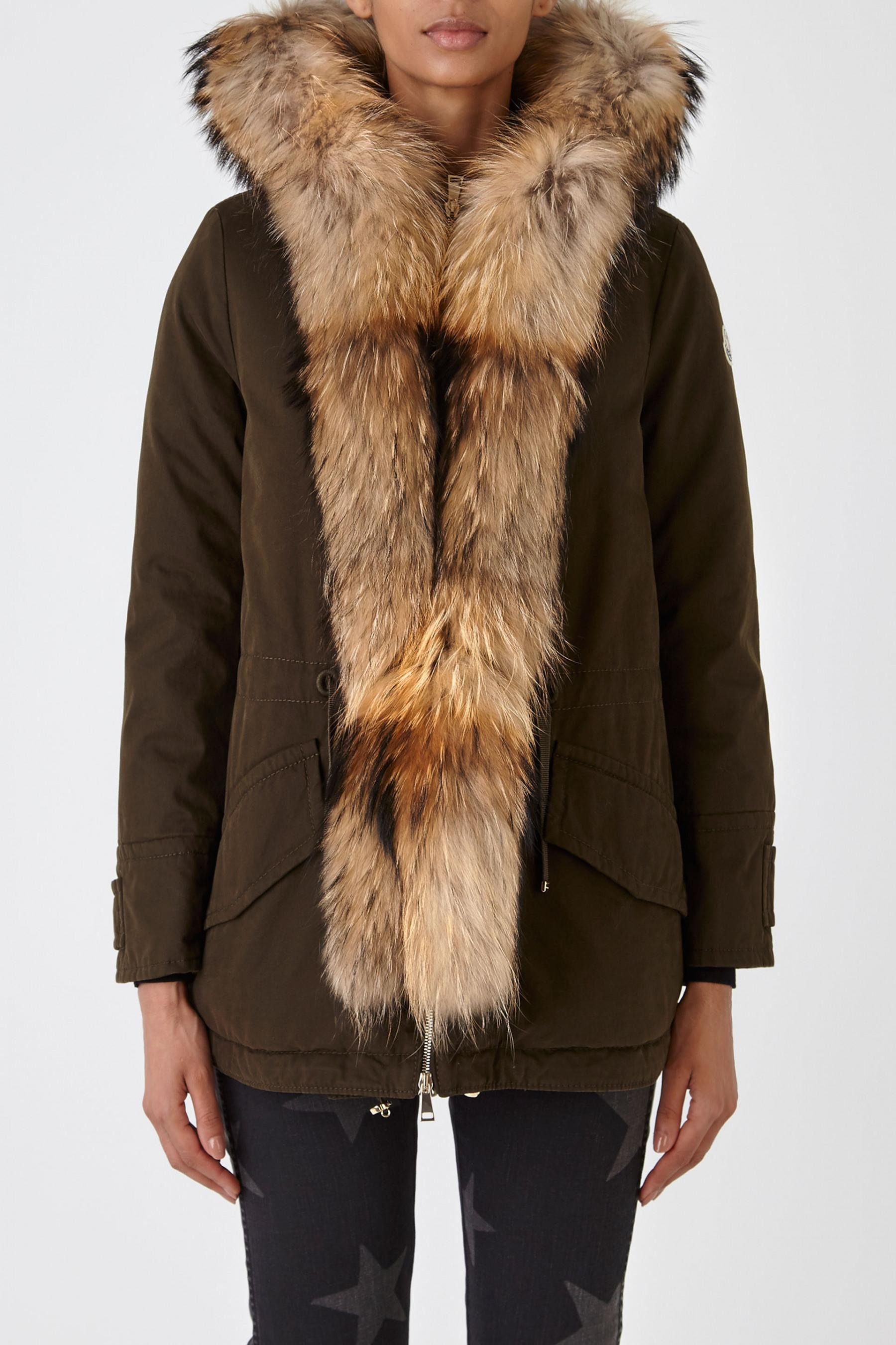 8e2b67223 Lyst - Moncler Glaphyra Jacket in Brown