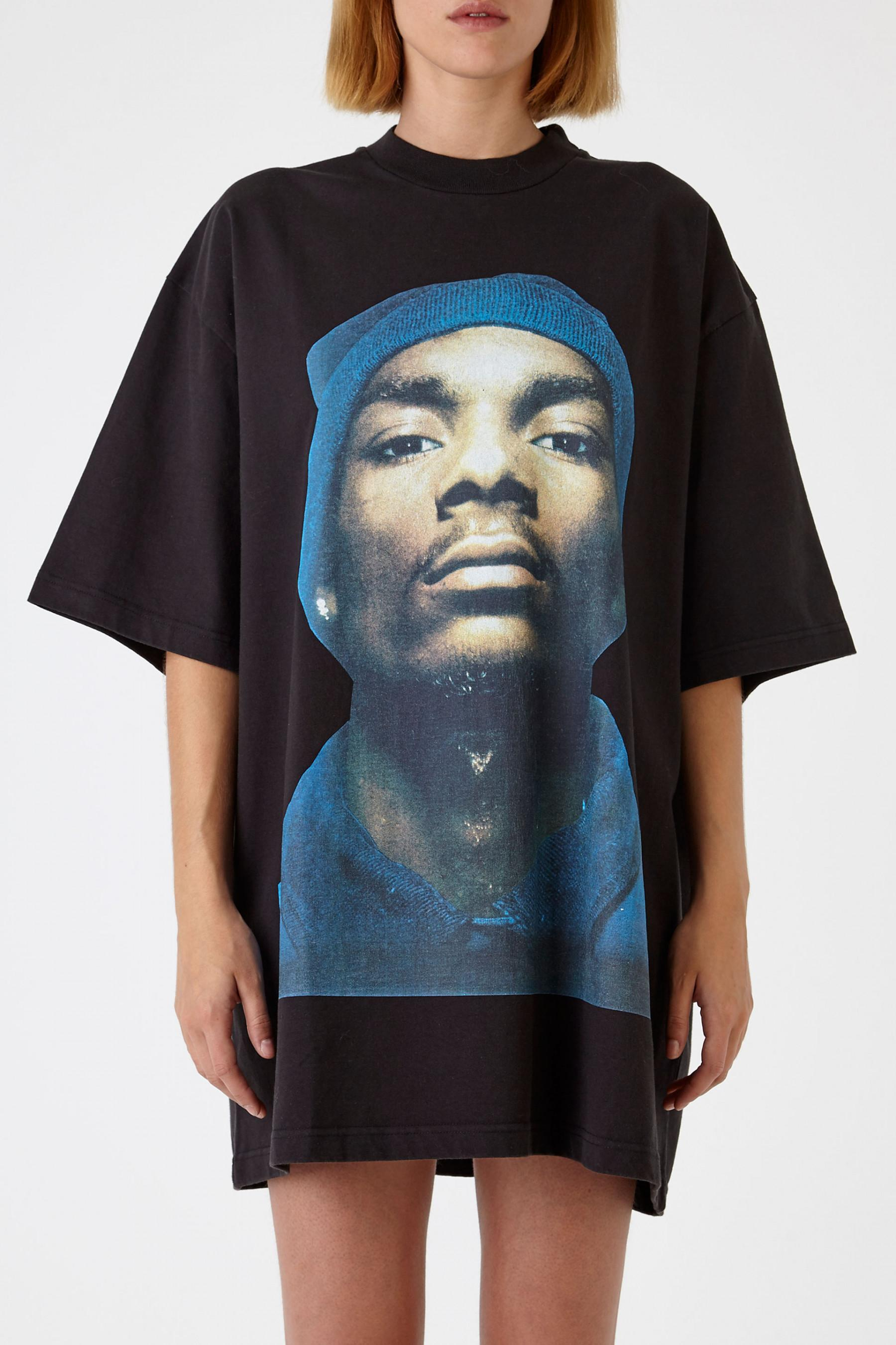 c8c53edc Vetements Snoop Dogg Oversized T-Shirt in Black - Lyst