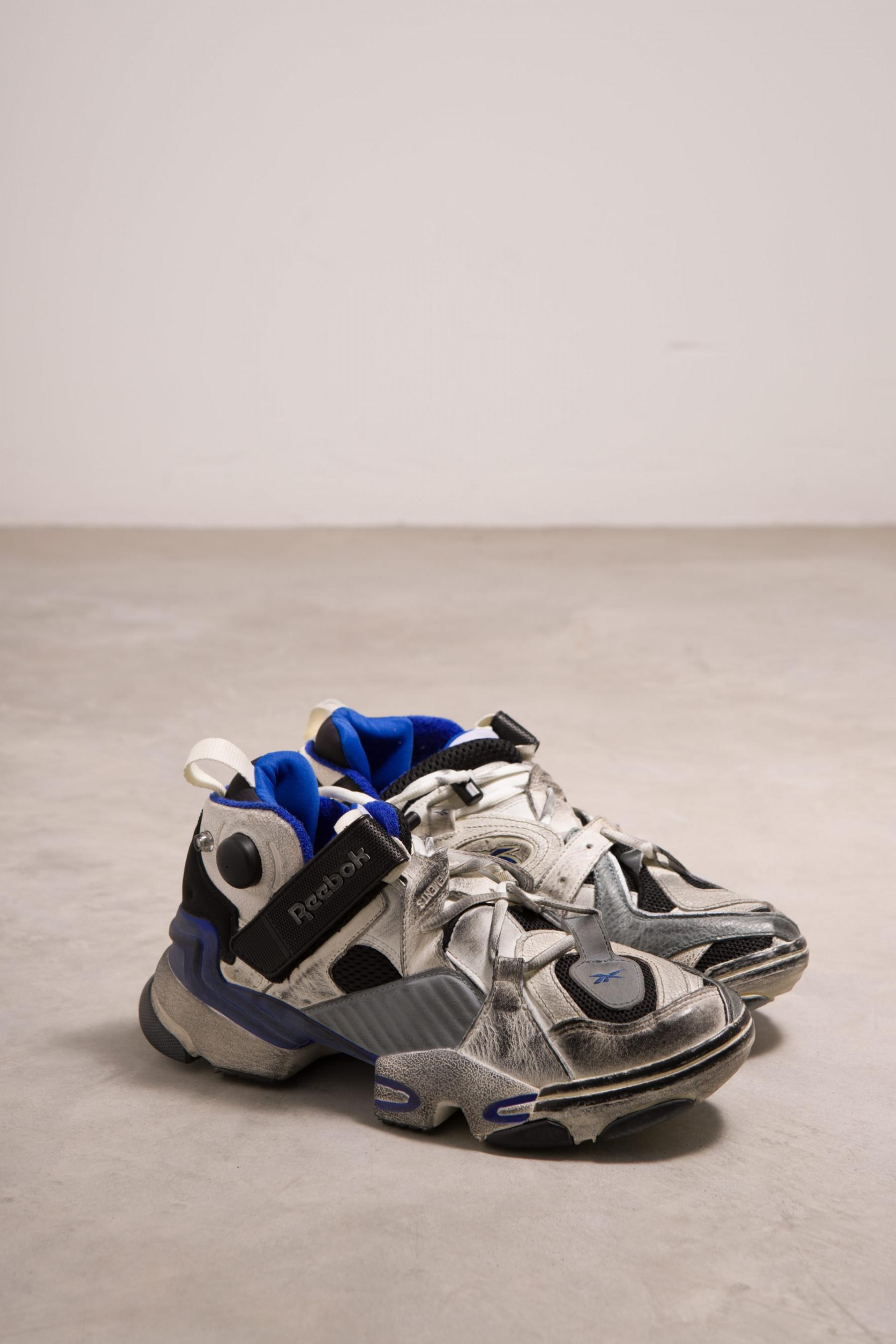 9162ba61b8fc Lyst - Vetements Reebok Genetically Modified Instapump Fury Sneaker ...