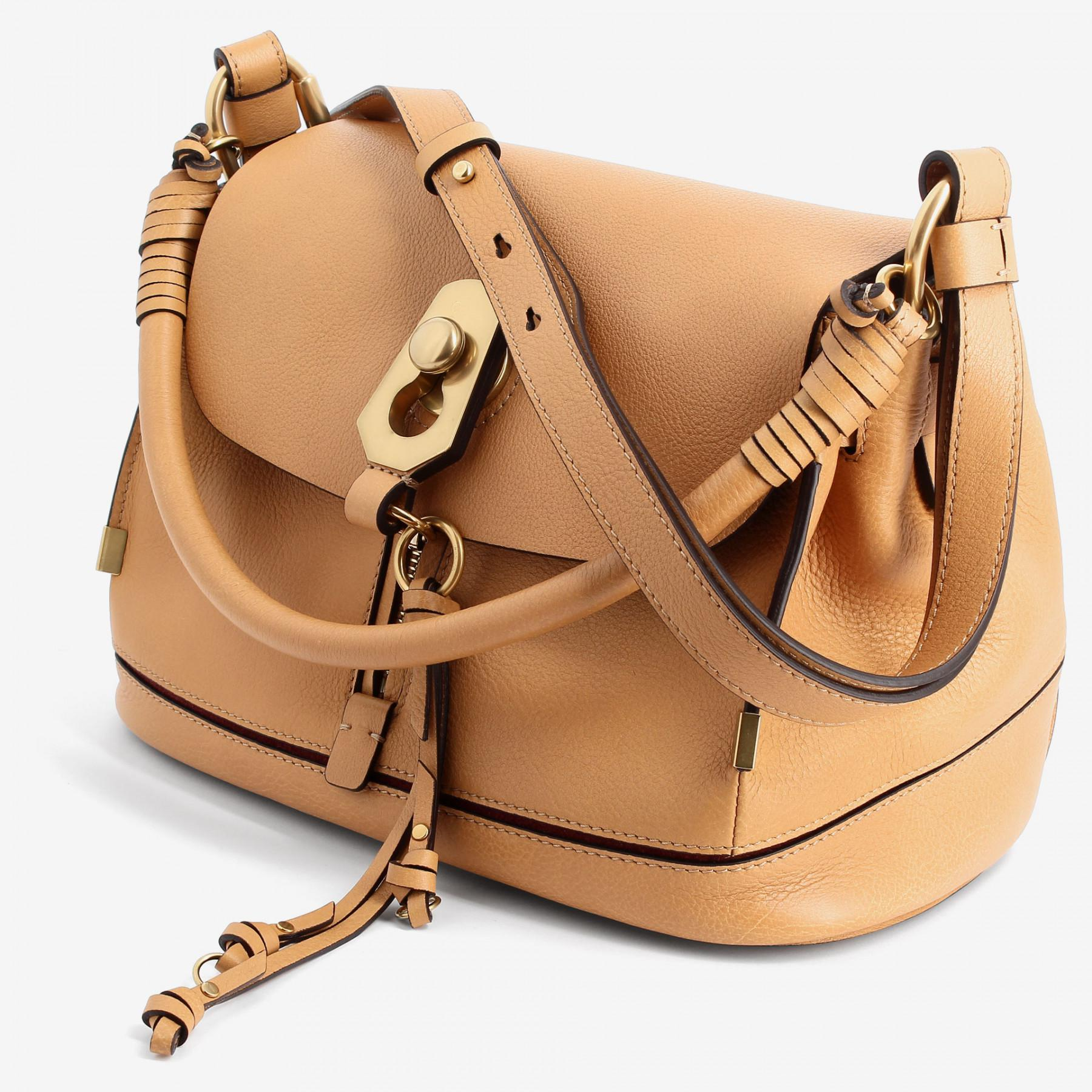 31fa2e666953 Chloé Owen Bag With Flap in Brown - Lyst