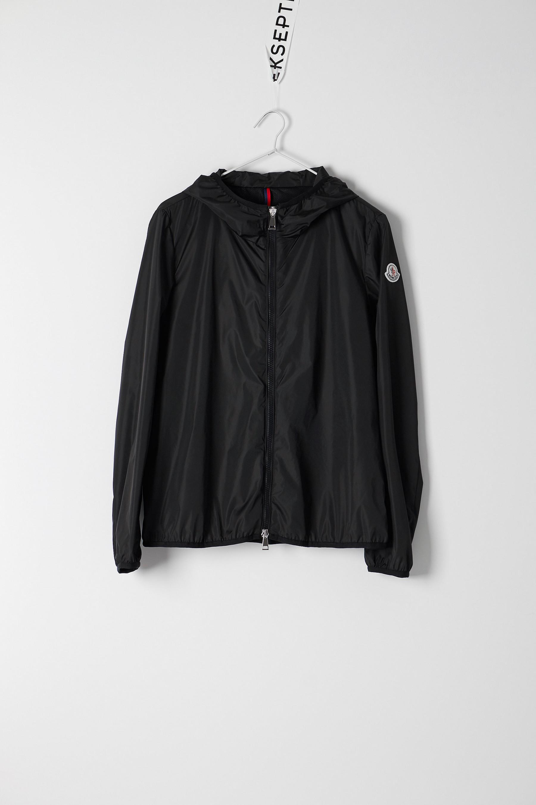 moncler black vive jacket