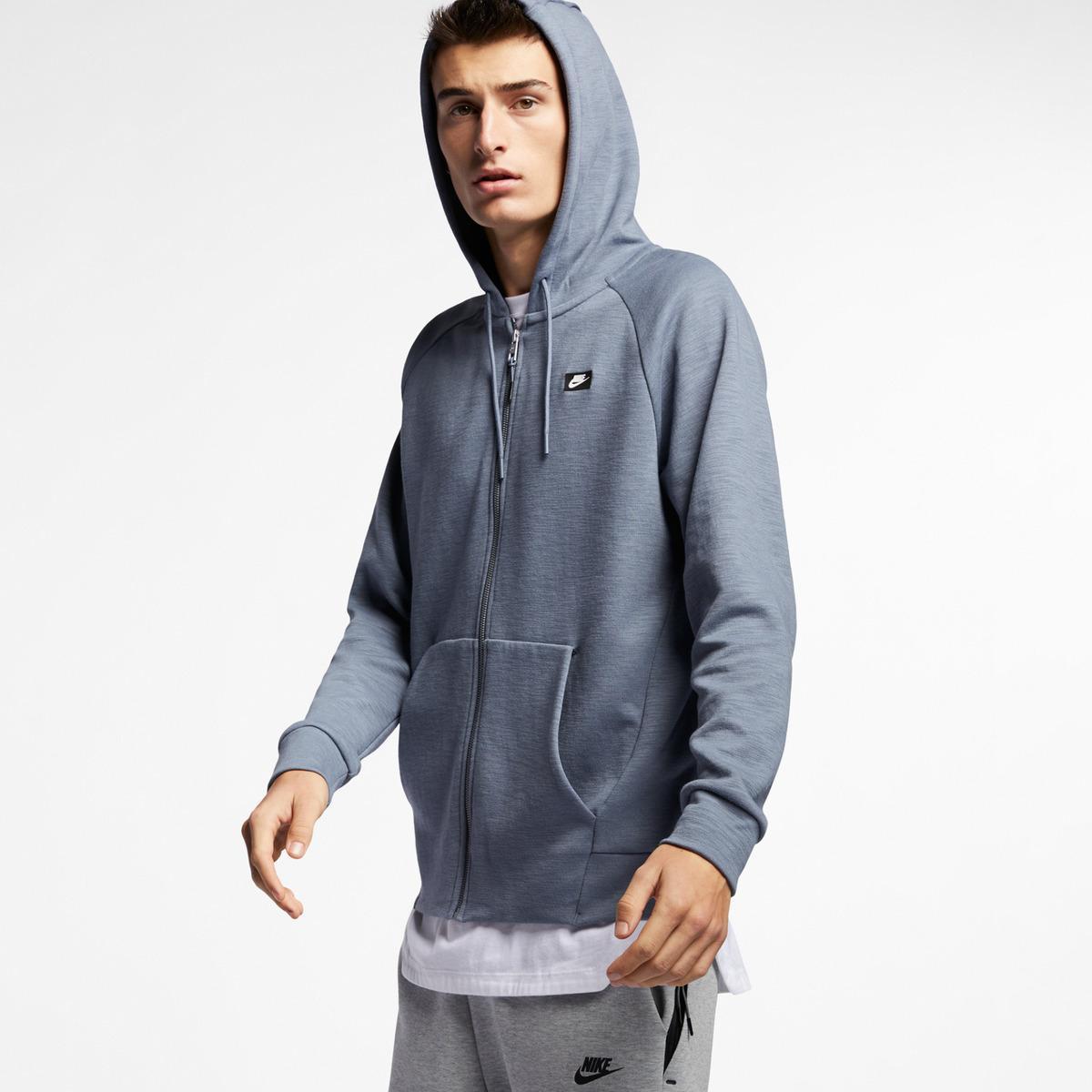 e17426f8 Lyst - Nike Sportswear Optic Fleece Sweatshirt in Blue for Men