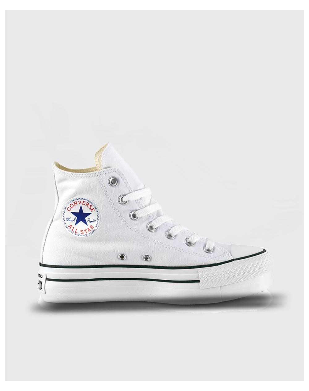 173f4cd34e85af Converse Chuck Taylor All Star Lift Clean Hi Casual Trainers in ...