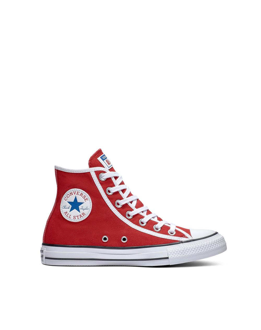 86a76d3c5ea6 Converse. Red Chuck Taylor All Star Gamer Unisex Casual Canvas High-top  Trainers